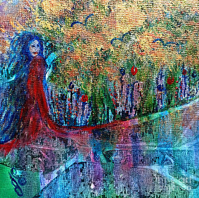 Painting - Reflection by Julie Engelhardt