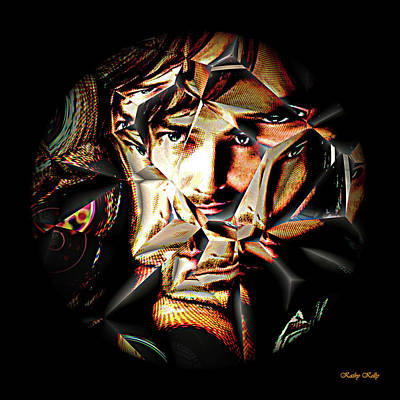Philosophical Movement Digital Art - Reflection by Kathy Kelly