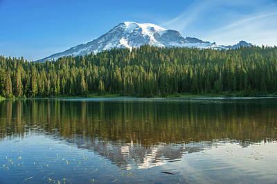 Photograph - Reflection Lake by Crystal Hoeveler
