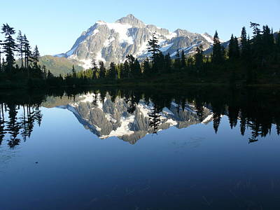 Art Print featuring the photograph Reflection Lake by Joel Deutsch