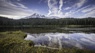 Photograph - Reflection Lake by Michael Donahue