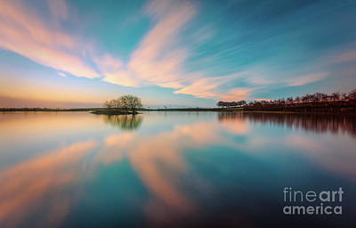 Photograph - Reflection - Long Exposure by Mariusz Talarek