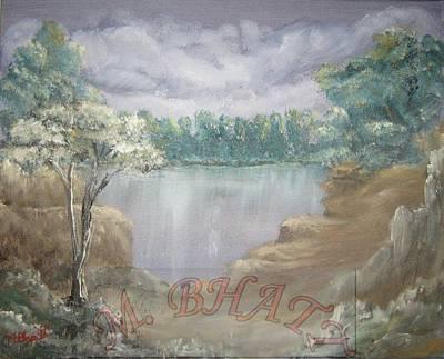 Reflection Art Print by M Bhatt