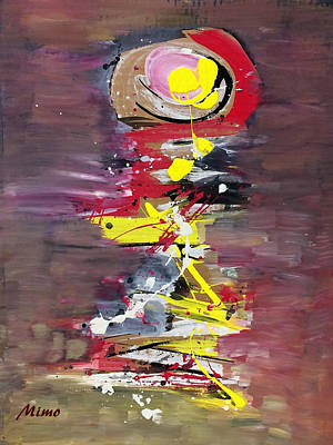 Painting - Reflection by Mimo Krouzian