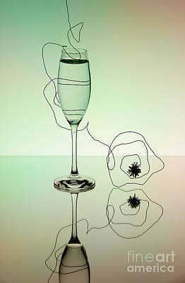 Champagne Photograph - Reflection by Nailia Schwarz