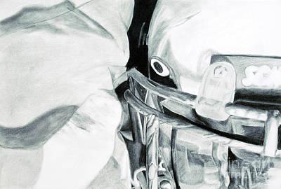 Noble Richardson Drawing - Reflection Of A Glimpse by Noble Richardson