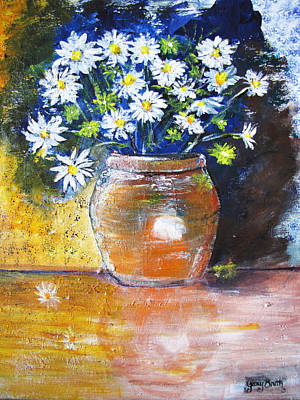 Painting - Reflection Of A Pot by Gary Smith