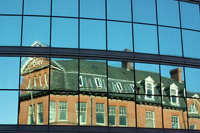 Photograph - Reflection Of A Victorian Building  by Kris Mercer