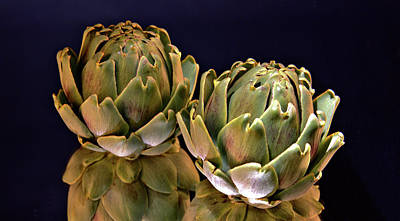 Photograph - Reflection Of Artichokes by Josephine Buschman