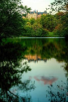 Asheville Photograph - Reflection Of Biltmore by Carol R Montoya