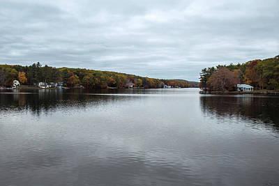 Photograph - Reflection Of Fall by David Johnson
