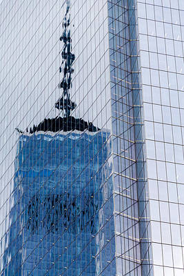 Photograph - Reflection Of Freedom Tower by SR Green