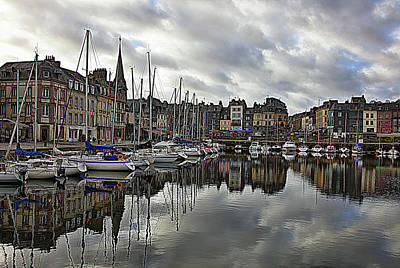 Photograph - Reflection Of Honfleur by Hugh Smith