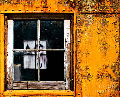 Reflection Of Light In The Midst Of Decay Art Print