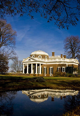 Photograph - Reflection Of Monticello by Ches Black