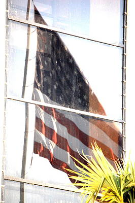 Photograph - Reflection Of Patriotism by Emily Stauring
