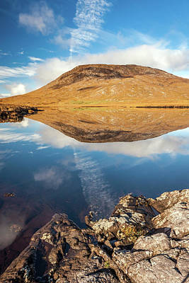 Photograph - Reflection Of The Connemara Hills by Pierre Leclerc Photography