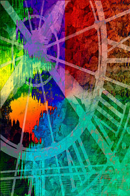 Digital Art - Reflection Of Time by Brian Roscorla