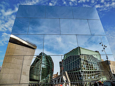 Photograph - Reflection Of Van Gogh by Paul Wear