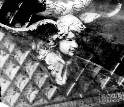 Photograph - Reflection On Angel by Frances Ann Hattier