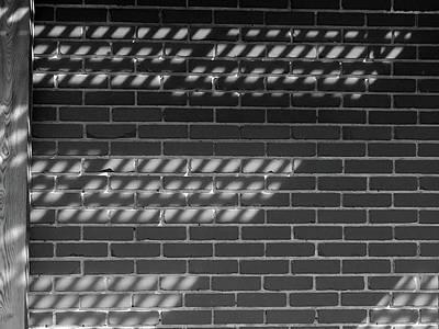 Photograph - Reflection On Brick by David Pantuso