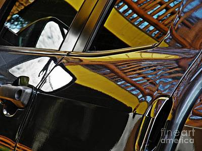 Photograph - Reflection On Lisa's Truck by Sarah Loft