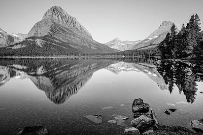 Photograph - Reflection On Swift Current Lake  by John McGraw