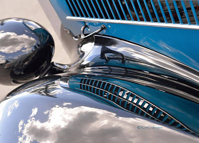 Photograph - Reflection On The Coupe by Kae Cheatham