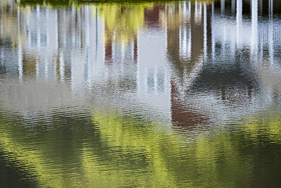 Photograph - Reflection On The Ripples by Robert Potts
