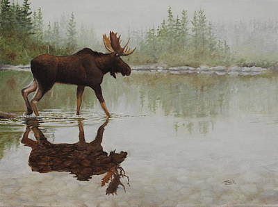 Painting - Reflection On The Rocks by Tammy Taylor