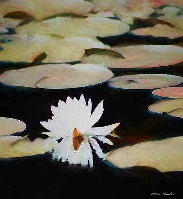 Painting - Reflection Pond by Debra     Vatalaro