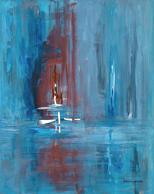 Painting - Reflections 1 by Diana Wade