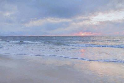 Impressionism Digital Art - Reflections 10 by Lonnie Christopher