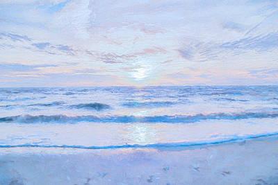 Impressionism Digital Art - Reflections 8 by Lonnie Christopher