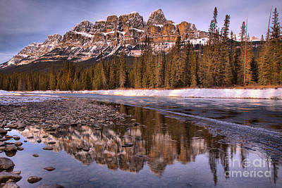Photograph - Reflections Along The Bow River Rocky Shore by Adam Jewell
