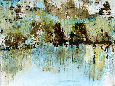Painting - Reflections by Anand Swaroop Manchiraju
