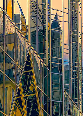 Photograph - Reflections And Colors by Maria Coulson