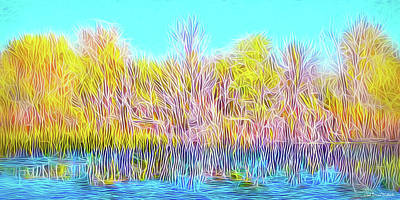 Digital Art - Reflections And Meditations by Joel Bruce Wallach