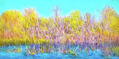 Digital Art - Reflections And Meditations by Joel Bruce Wallach