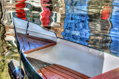 Photograph - Reflections And Ripples by Nadia Sanowar