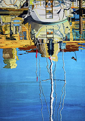 Painting - Reflections by Andre Salvador