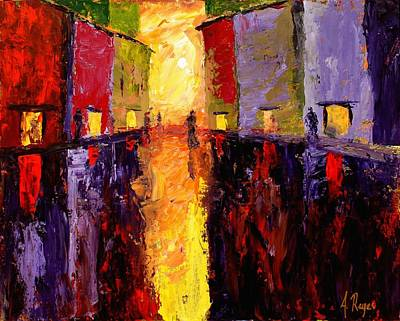 Painting - Reflections by Angel Reyes