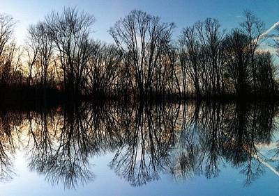 Trail Photograph - Reflections by Annie Walczyk