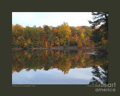 Reflections At Boughton Park Art Print