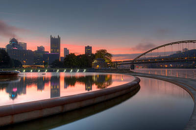 Photograph - Reflections At Dawn by Lori Coleman