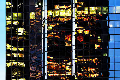 Photograph - Reflections At Dusk by Amyn Nasser