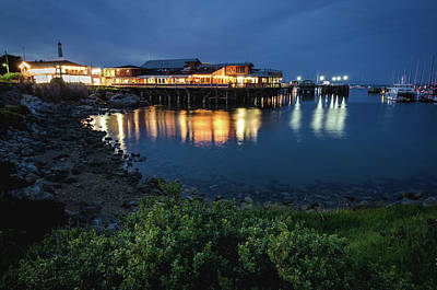 Photograph - Reflections At Fisherman's Wharf No.2 by Margaret Pitcher