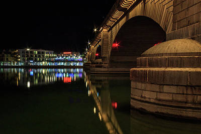 Photograph - Reflections At London Bridge by James Eddy