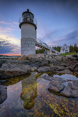 Photograph - Reflections At Marshall Point by Rick Berk