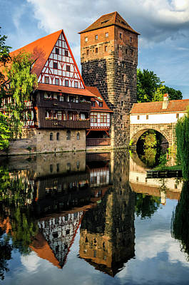Photograph - Reflections At Nuremberg 2 by Pablo Lopez
